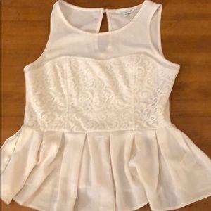 Dressy beige blouse